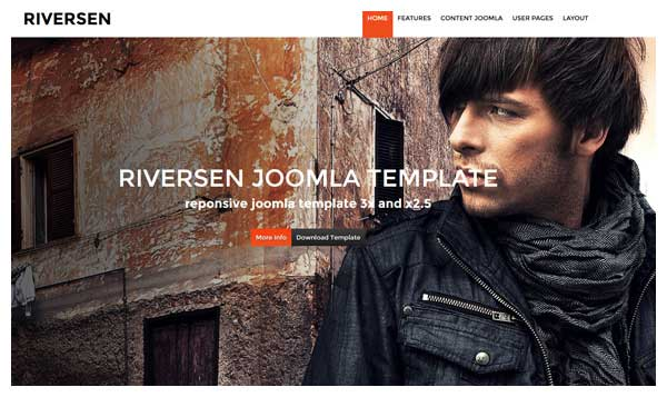 Riversen Joomla Template
