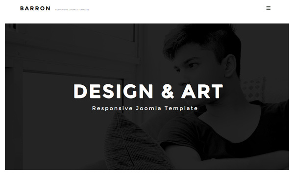 barron joomla template
